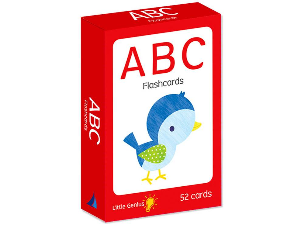 ABC FLASHCARDS LITTLE GENIUS