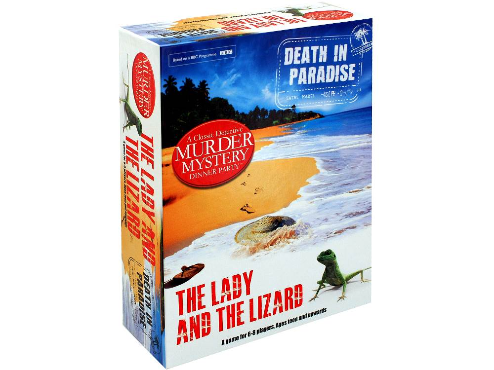 DEATH IN PARADISE MYSTERY GAME