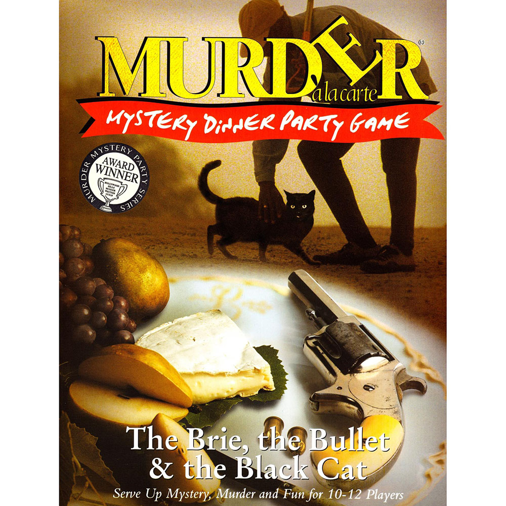 MURDER MYSTERY BRIE,BLACK CAT