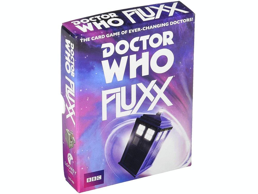 FLUXX DR WHO SINGLE DECK
