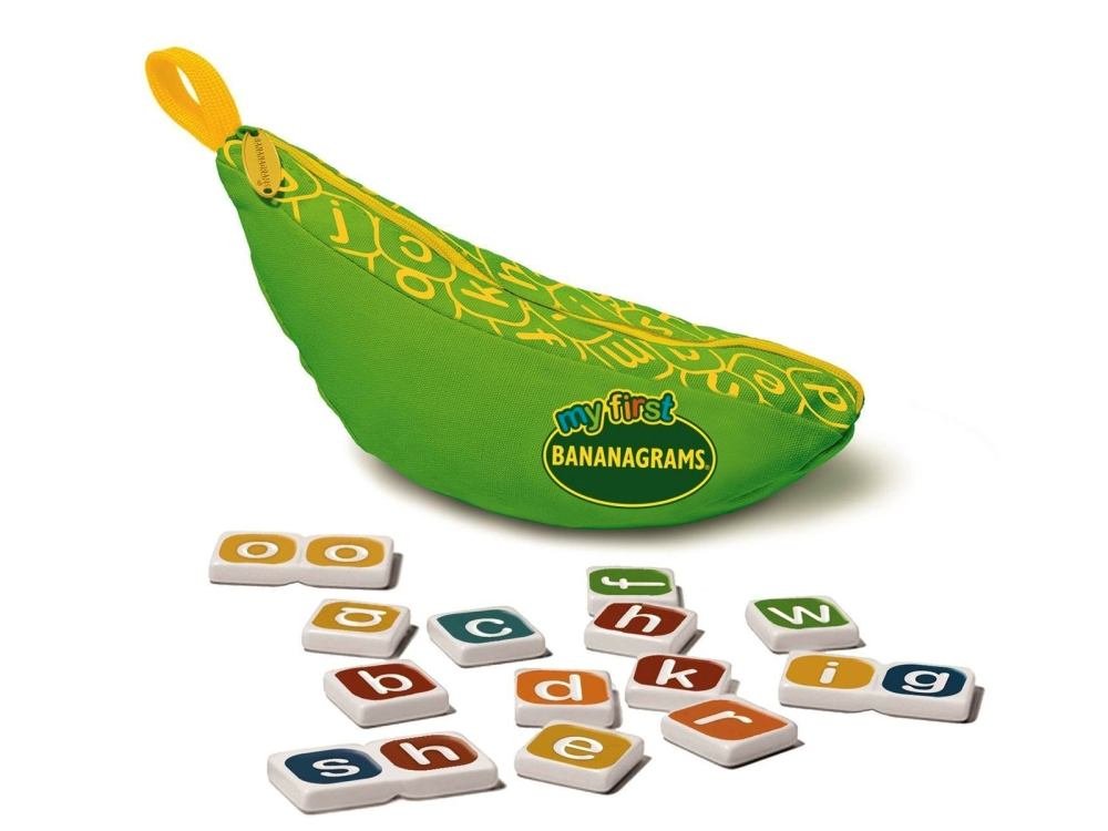 BANANAGRAMS, MY FIRST
