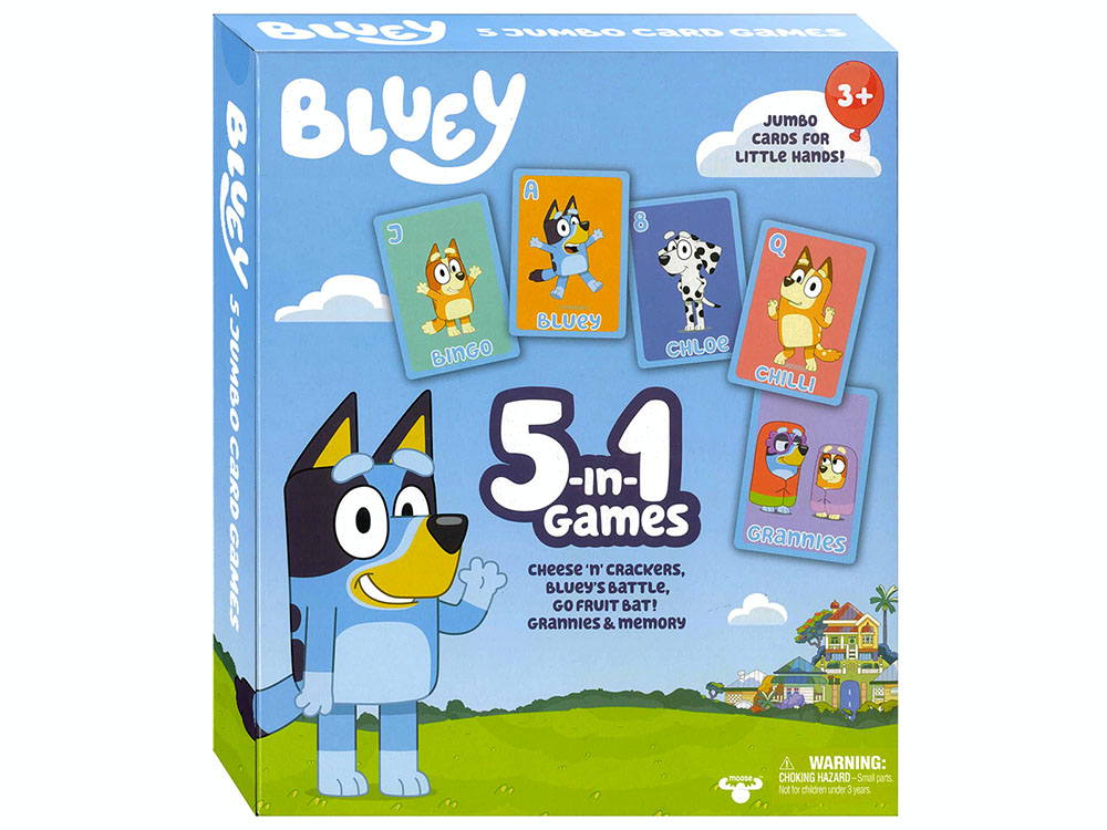 BLUEY 5-in-1 GAMES