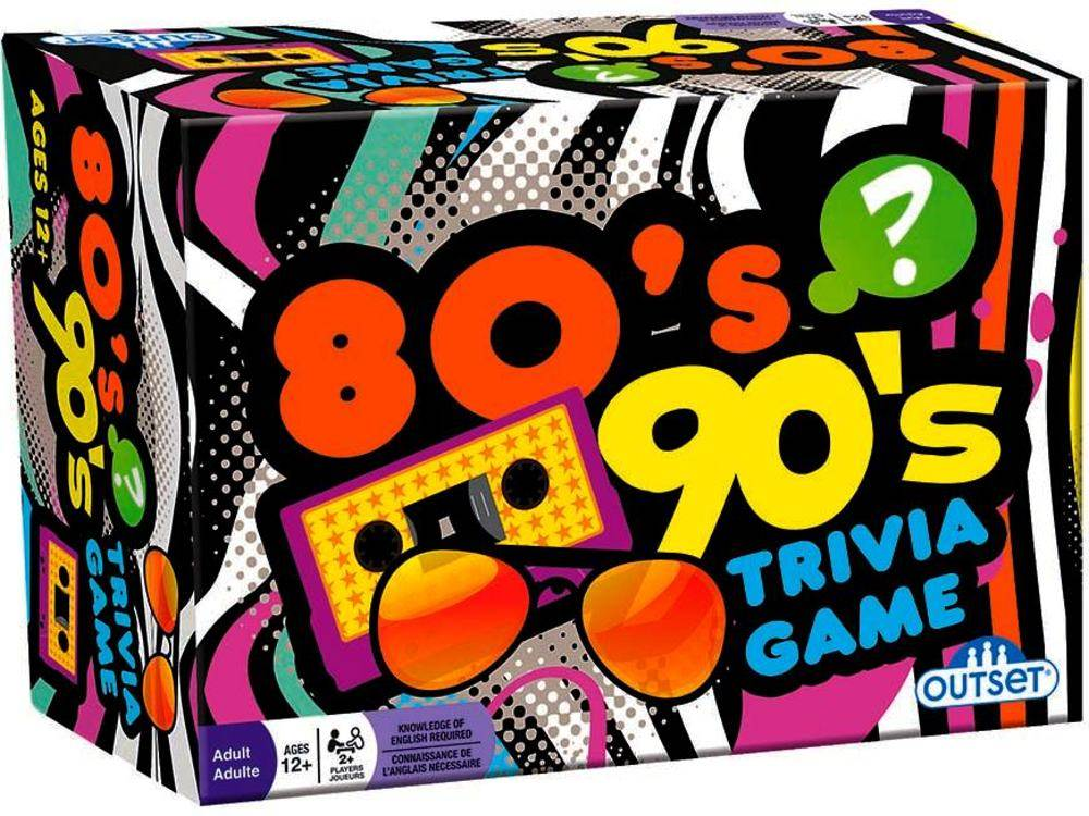 80'S & 90'S TRIVIA CARD GAME