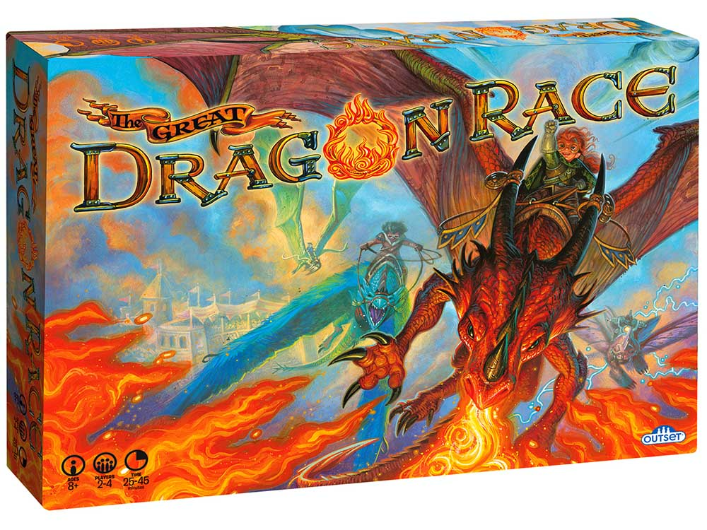 THE GREAT DRAGON RACE GAME