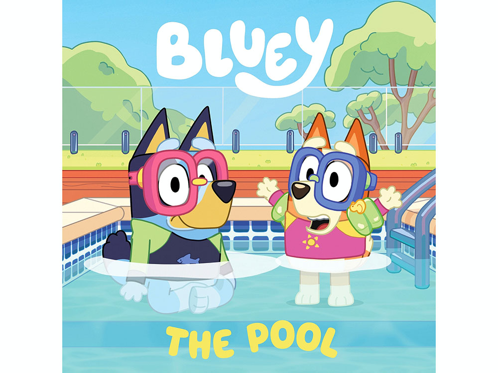 BLUEY THE POOL