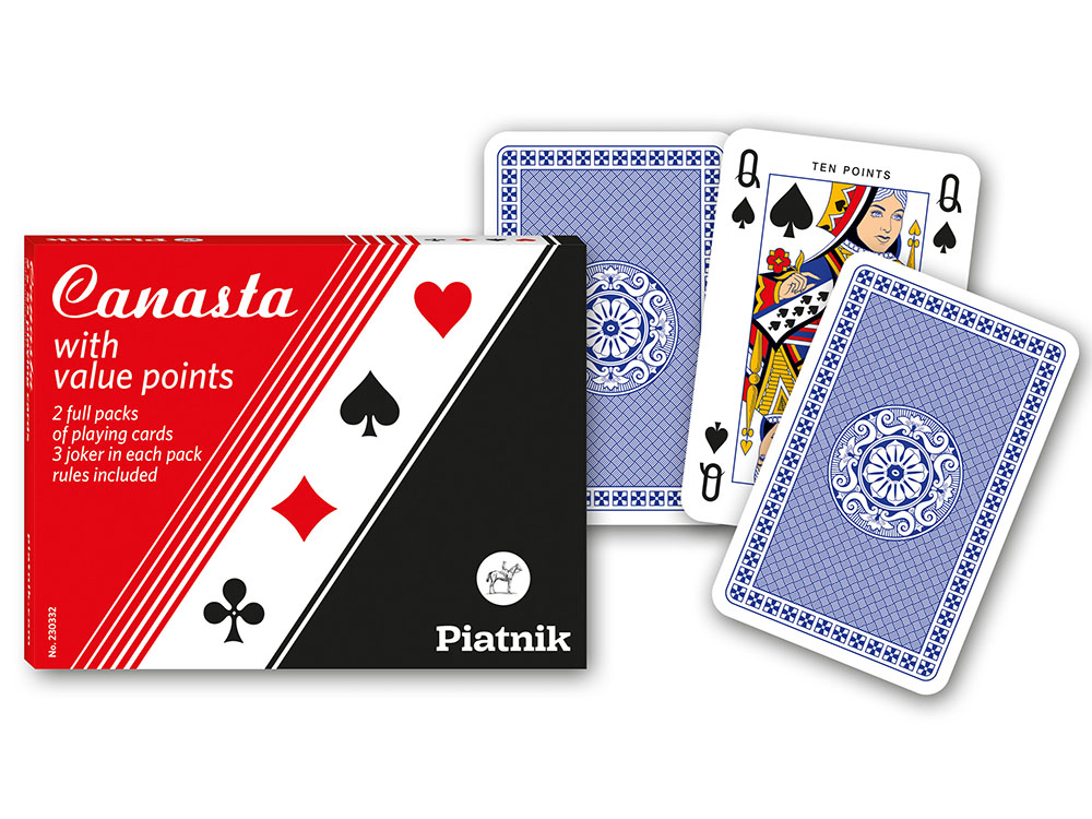 CANASTA TWIN PACK W/POINTS