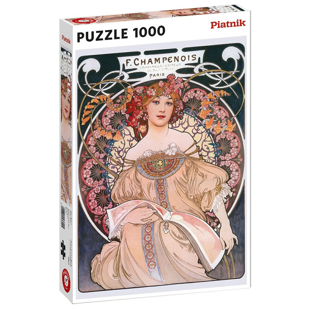 MUCHA, TRAUMEREI 1000pc
