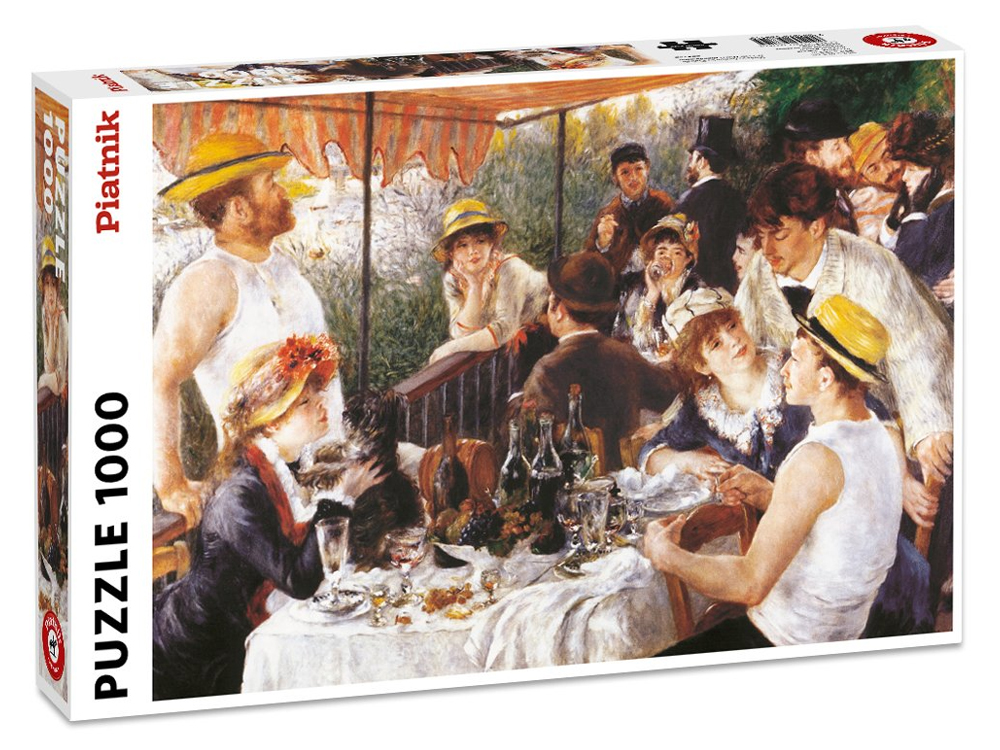 RENOIR,LUNCH.BOAT PARTY 1000pc