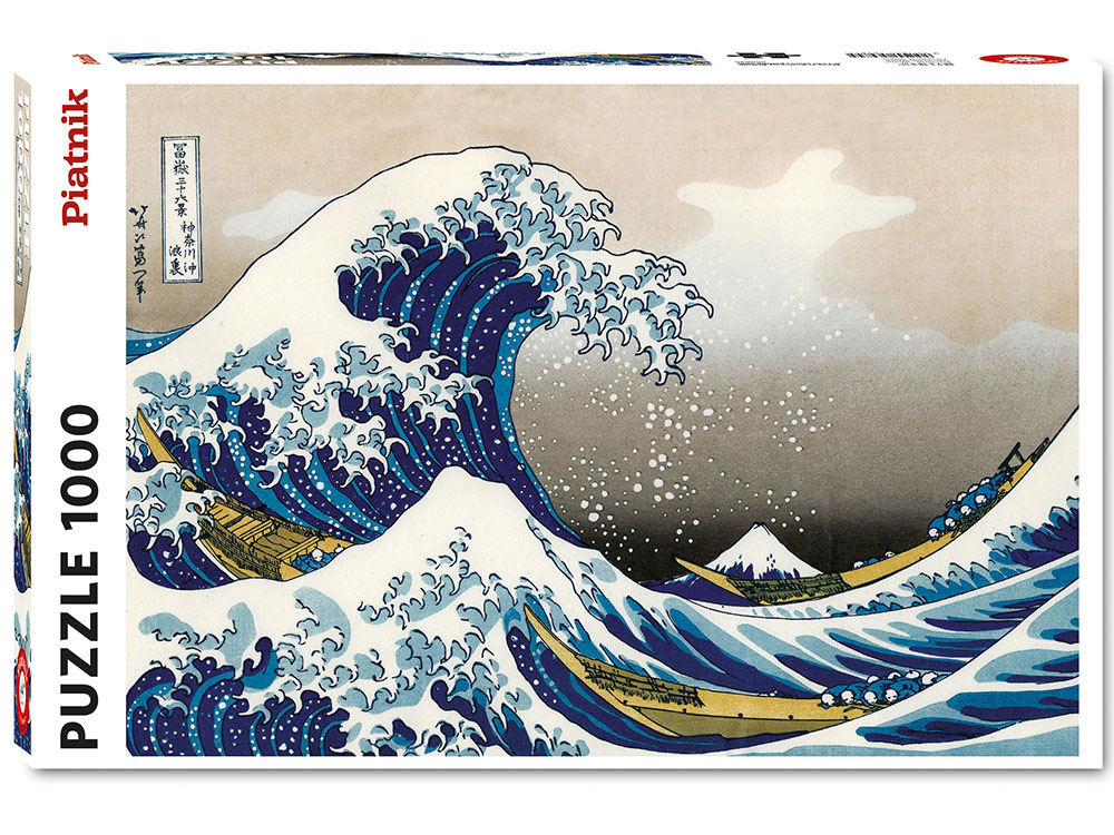HOKUSAI, THE GREAT WAVE 1000pc
