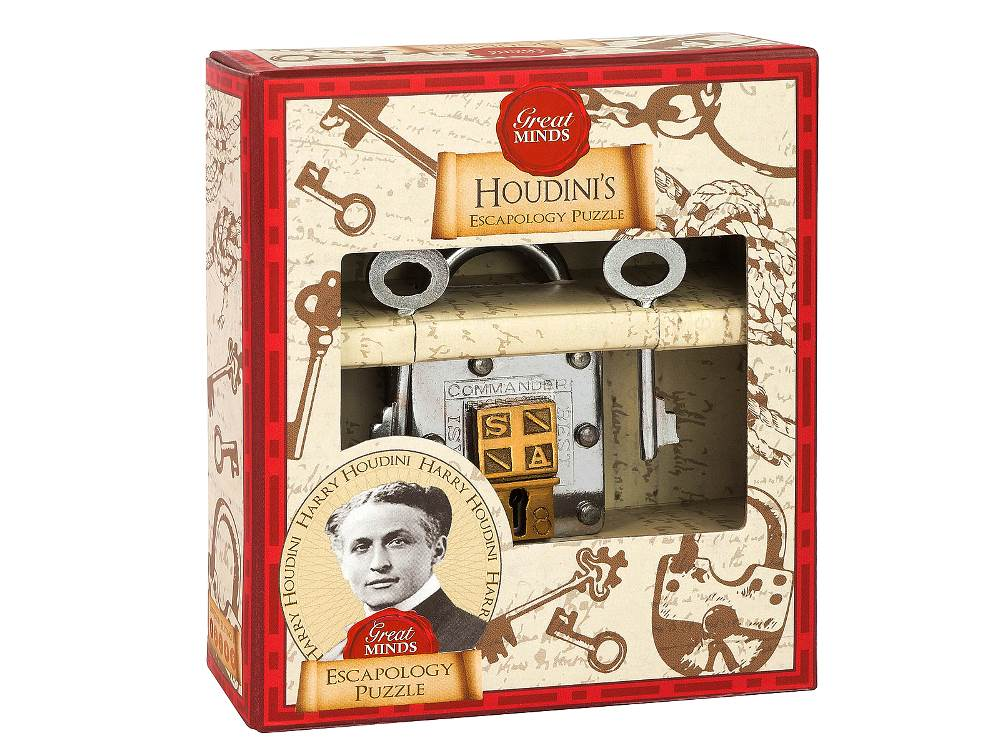 GREAT MINDS HOUDINI ESCAPOLOGY
