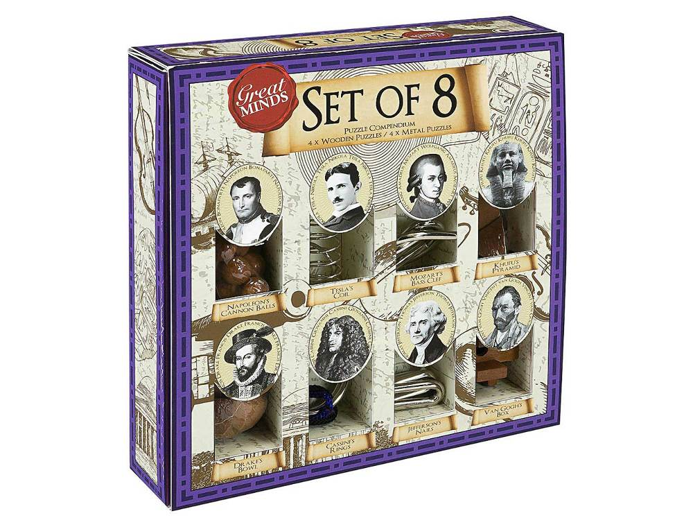 GREAT MINDS SET OF 8