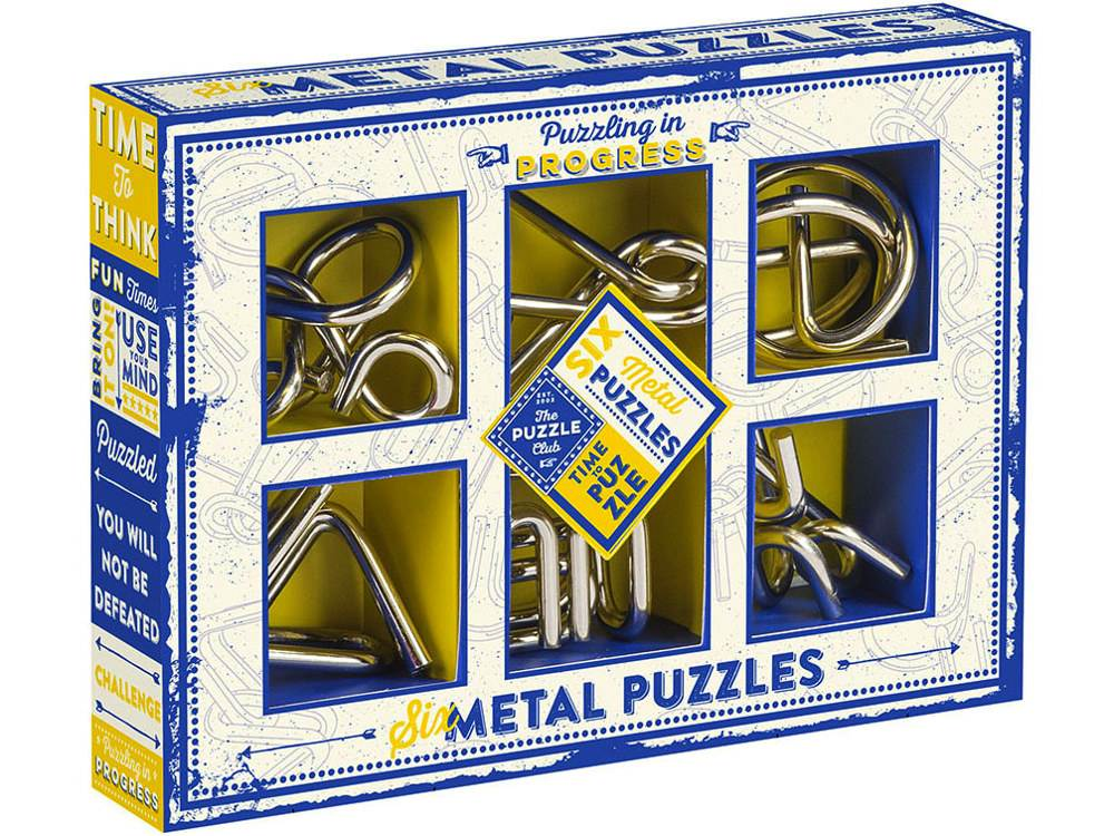 GAMES CLUB 6 METAL PUZZLE SET