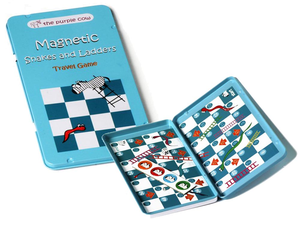 SNAKES & LADDERS, Travel Tin