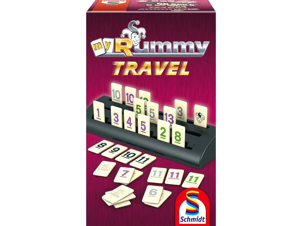 myRUMMY TRAVEL W/RACKS SCHMIDT