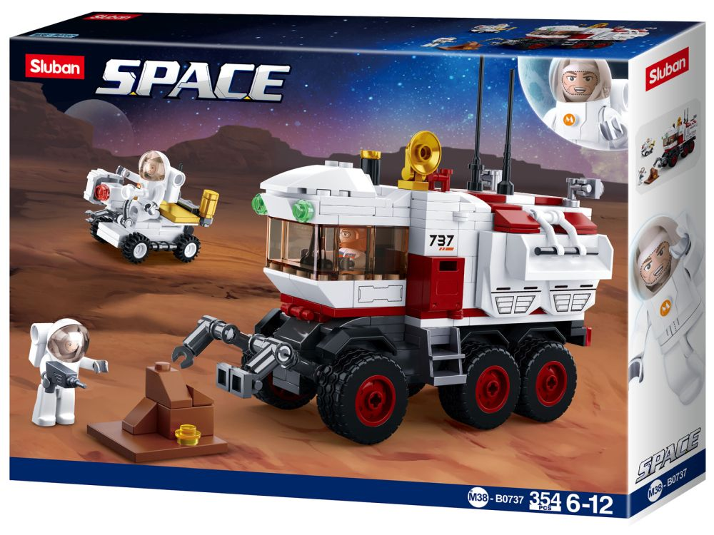 SPACE: MARS ROVER 354pcs