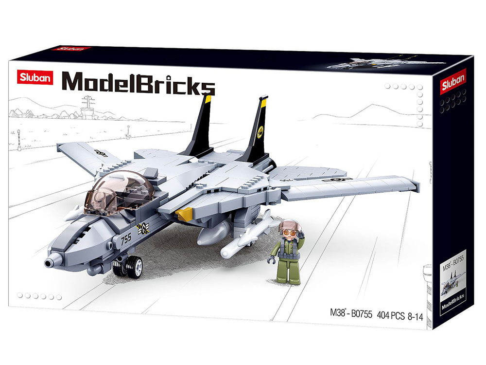 ARMY F14 TOMCAT FIGHTER 404pcs
