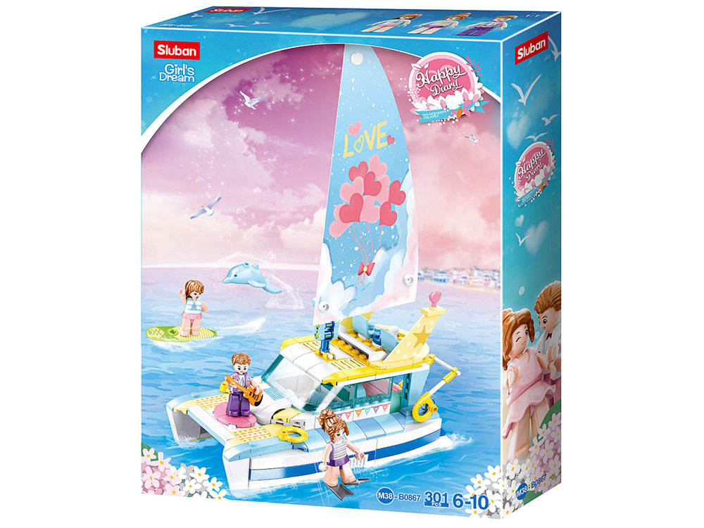 GIRLS DREAM YACHT 301pcs