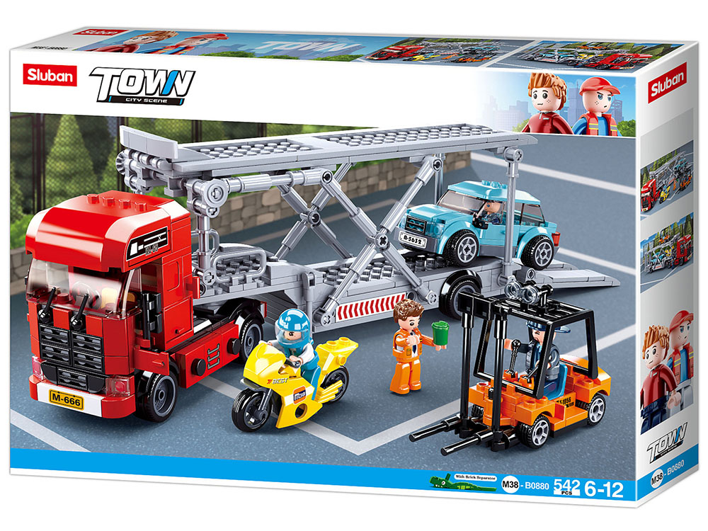 CAR TRANSPORTER 338pcs