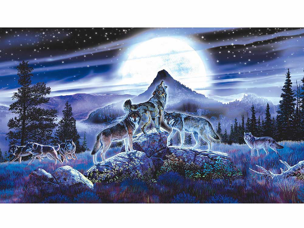 NIGHT WOLVES 1000pc
