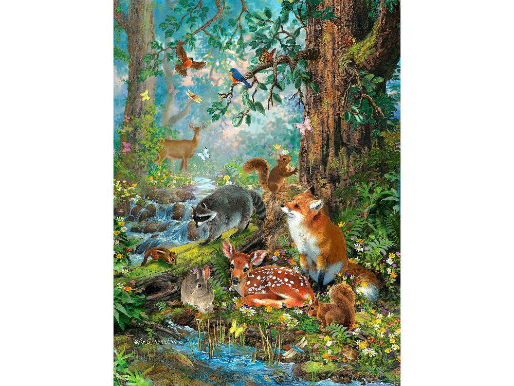 OUT IN THE FOREST 1000pc
