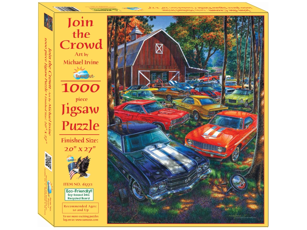 JOIN THE CROWD 1000pc