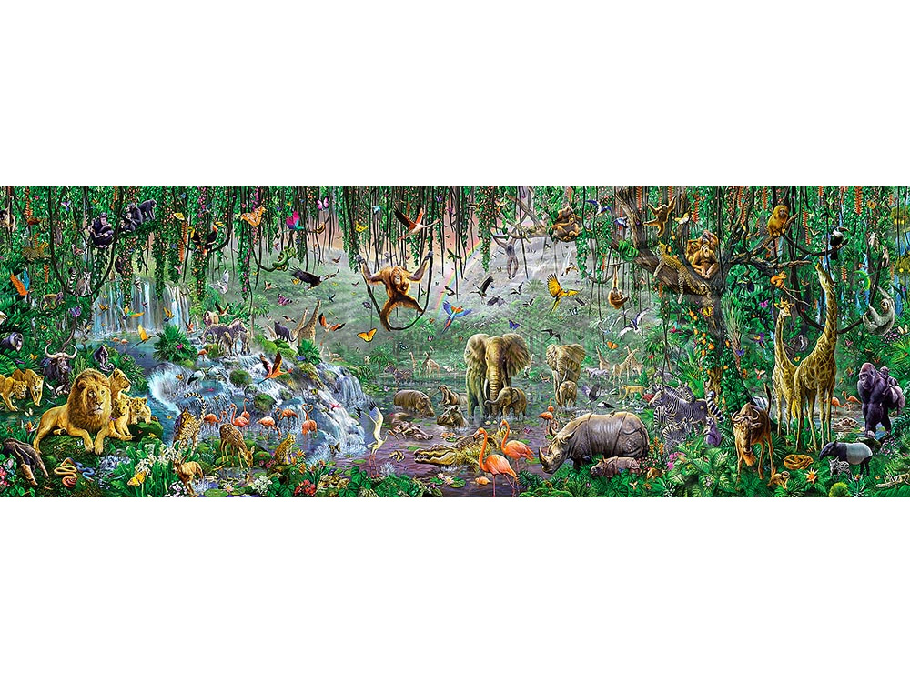 AFRICAN MURAL 500pc
