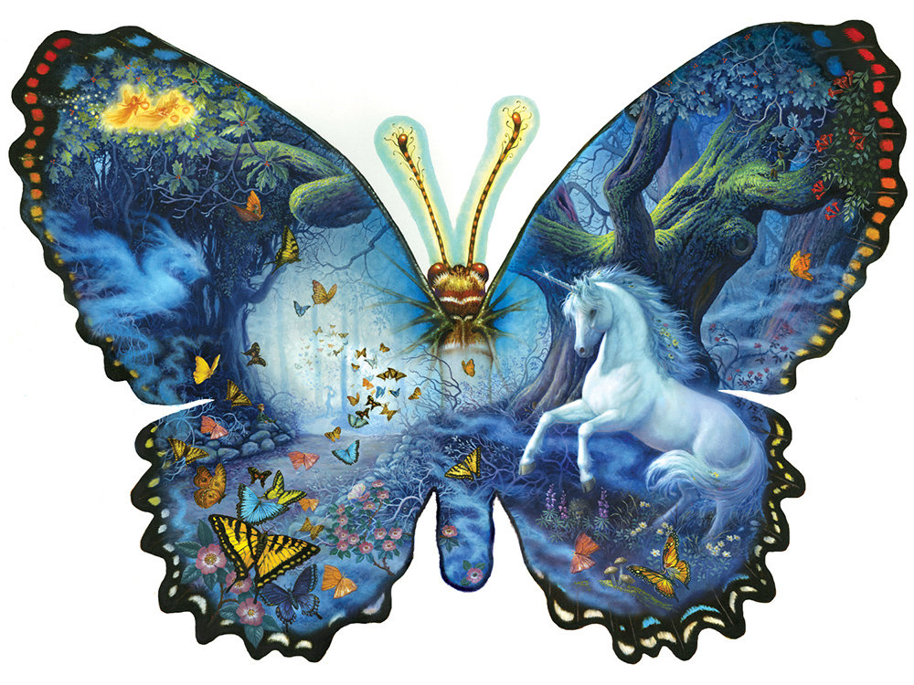 FANTASY BUTTERFLY *Shaped*
