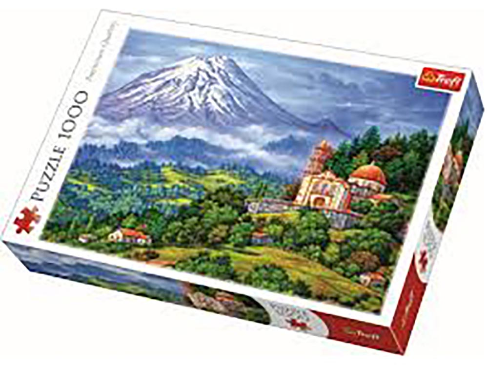 LANDSCAPE WITH VOLCANO 1000pc