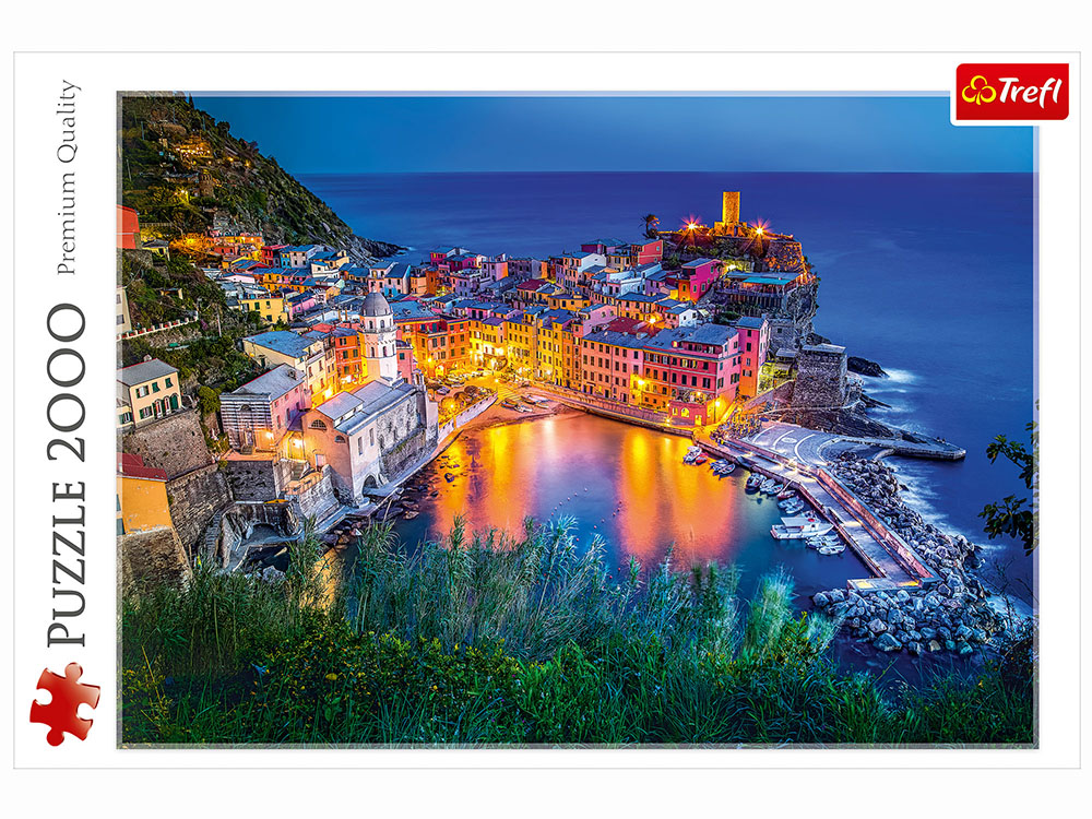 VERNAZZA AT DUSK 2000pc