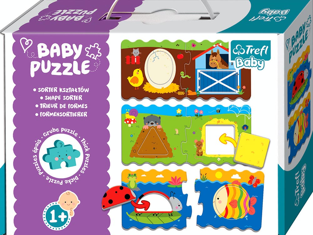 BABY PUZZLE SHAPE SORTER