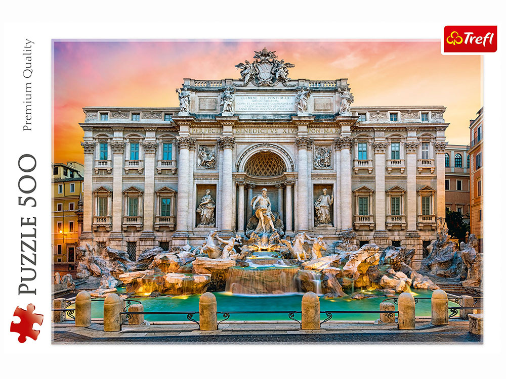 TREVI FOUNTAIN, ROME 500pcs