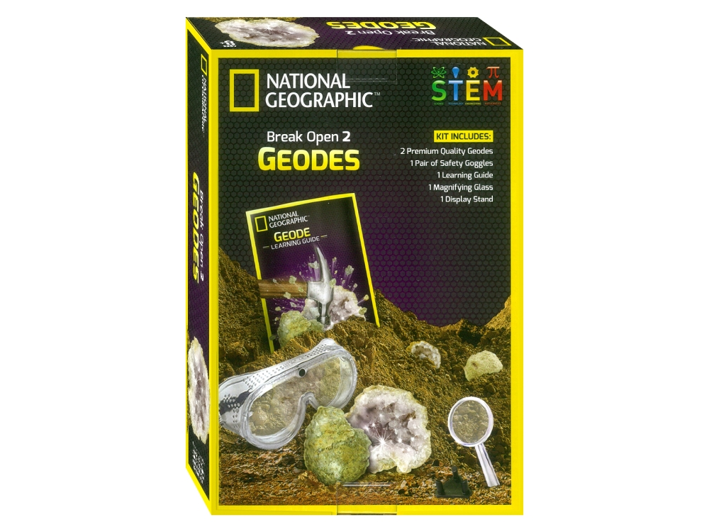 BREAK OPEN GEODES SCIENCE KIT