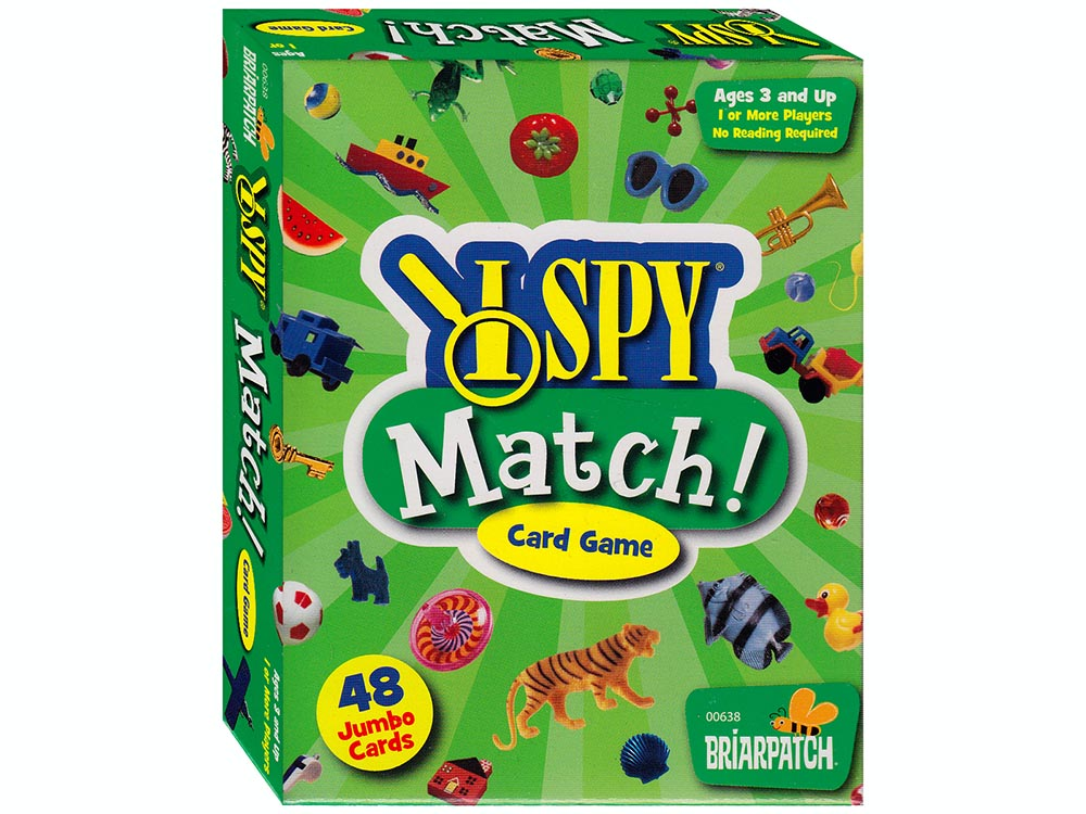 I SPY MATCH CARD GAME