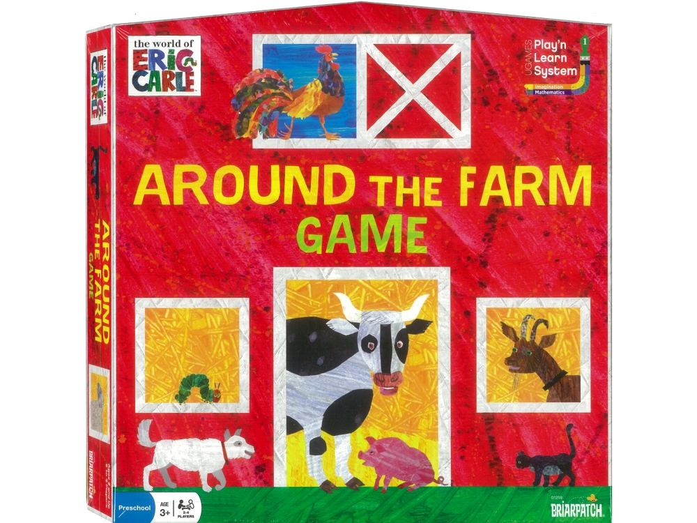 AROUND THE FARM GAME ERIC CARL
