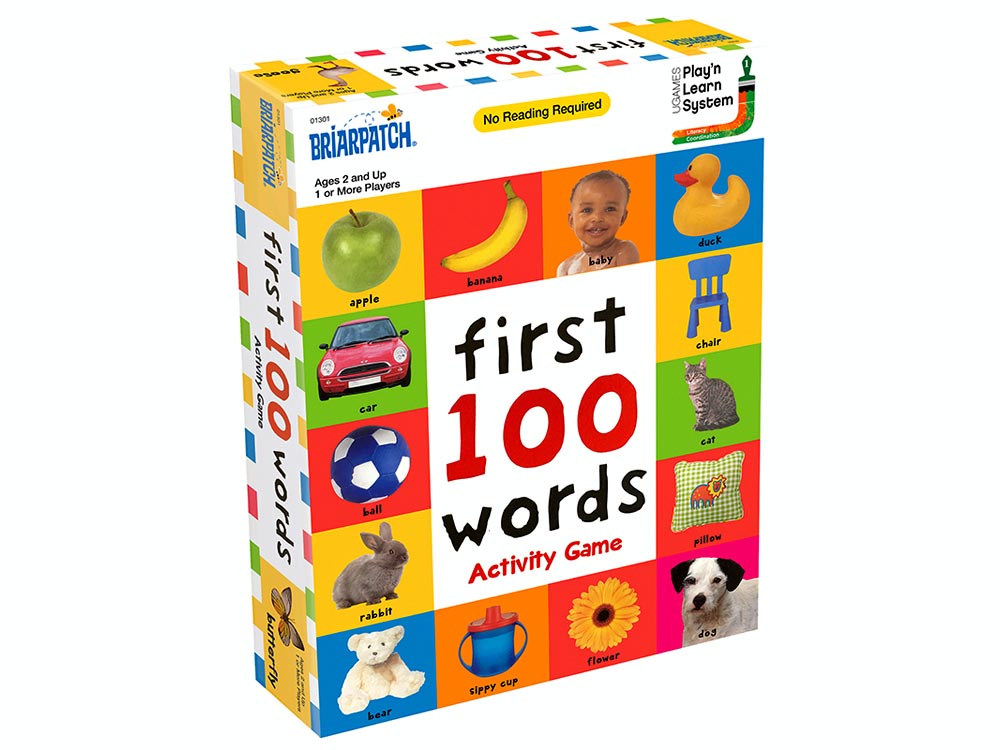 FIRST 100 WORDS ACTIVITY GAME