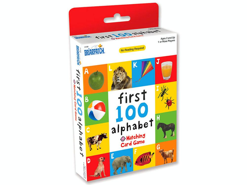 FIRST 100 ALPHABET CARD MATCH