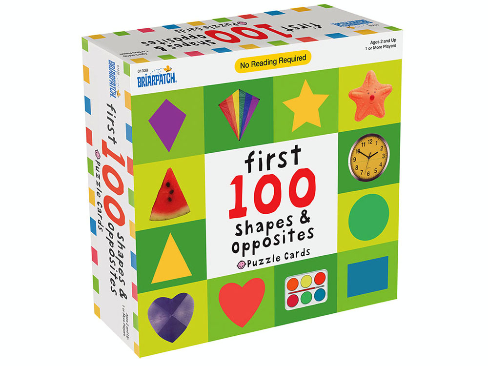 FIRST 100 SHAPES & OPPOSITES