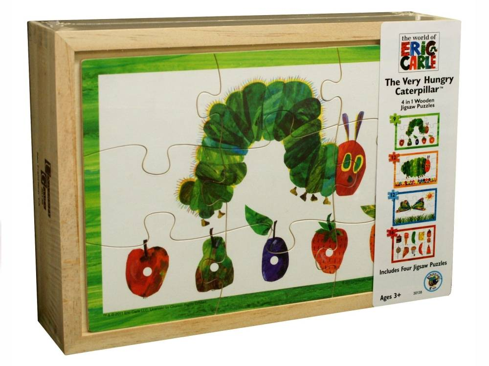 VERY HUNGRY CATERPILLAR 4in1