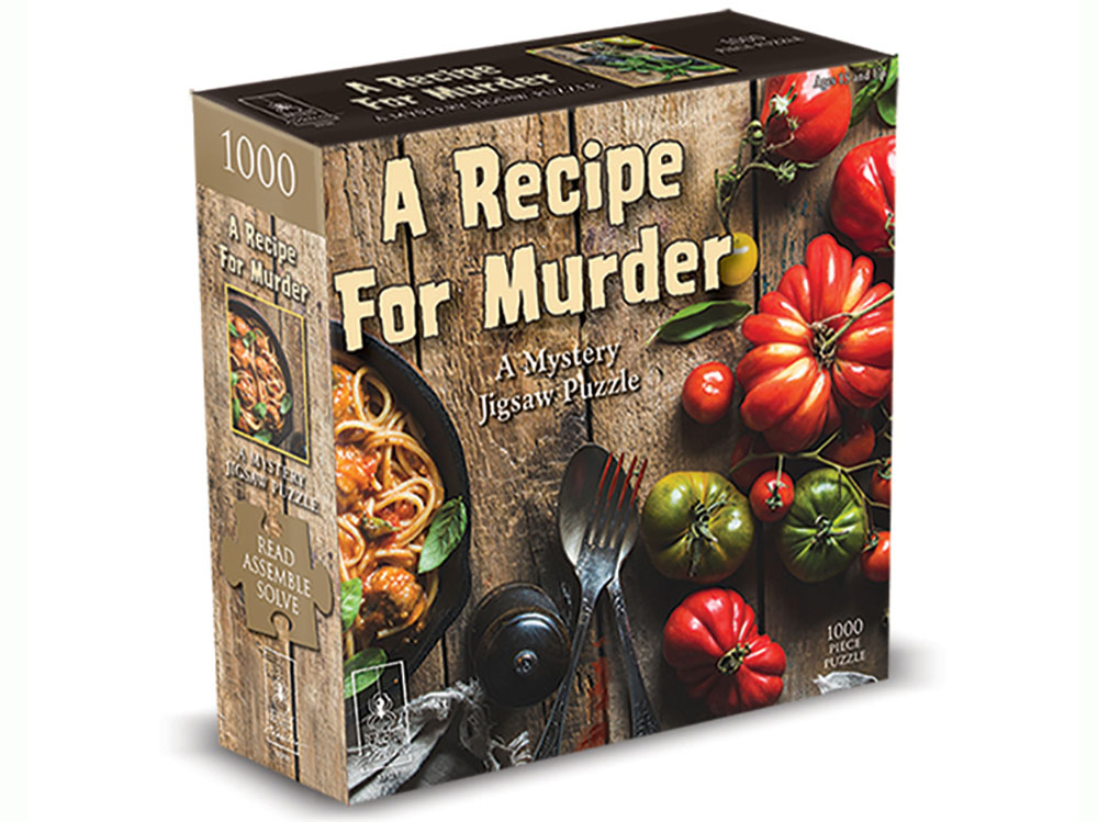 A RECIPE FOR MURDER BePUZZLED