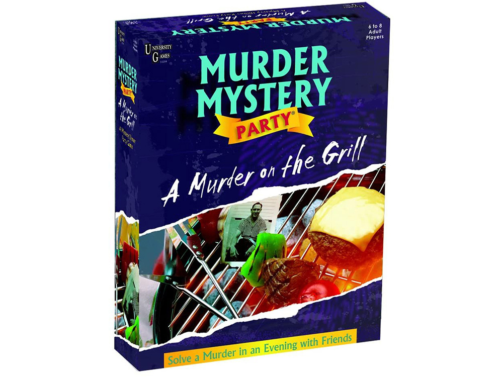 A MURDER ON THE GRILL MMP