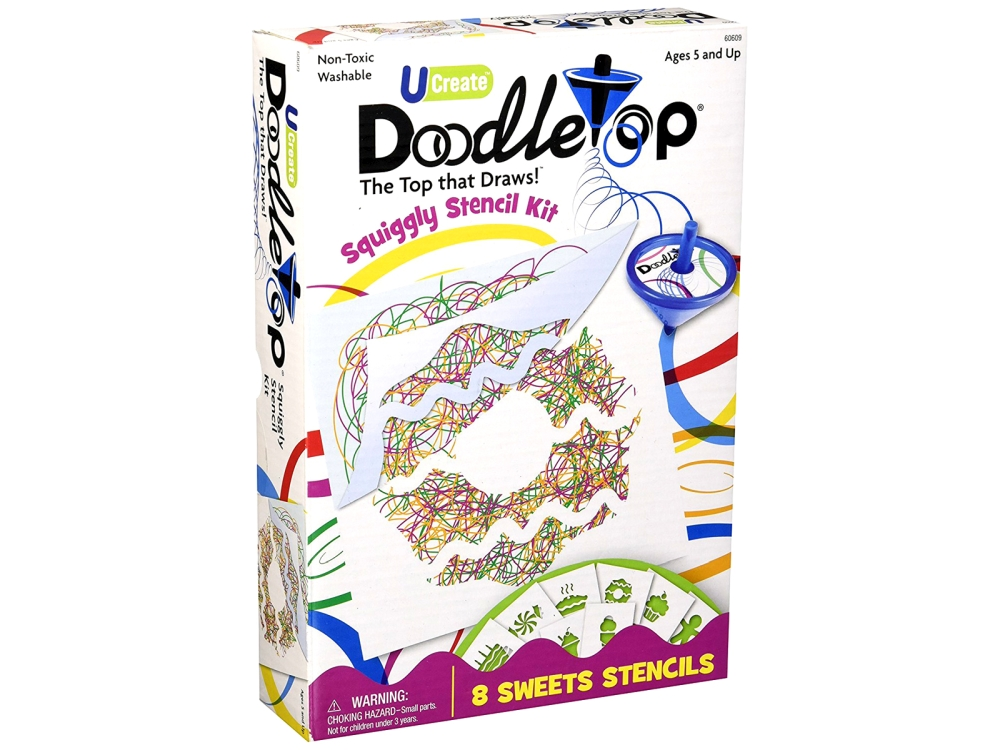 DOODLETOP SWEETS STENCILS
