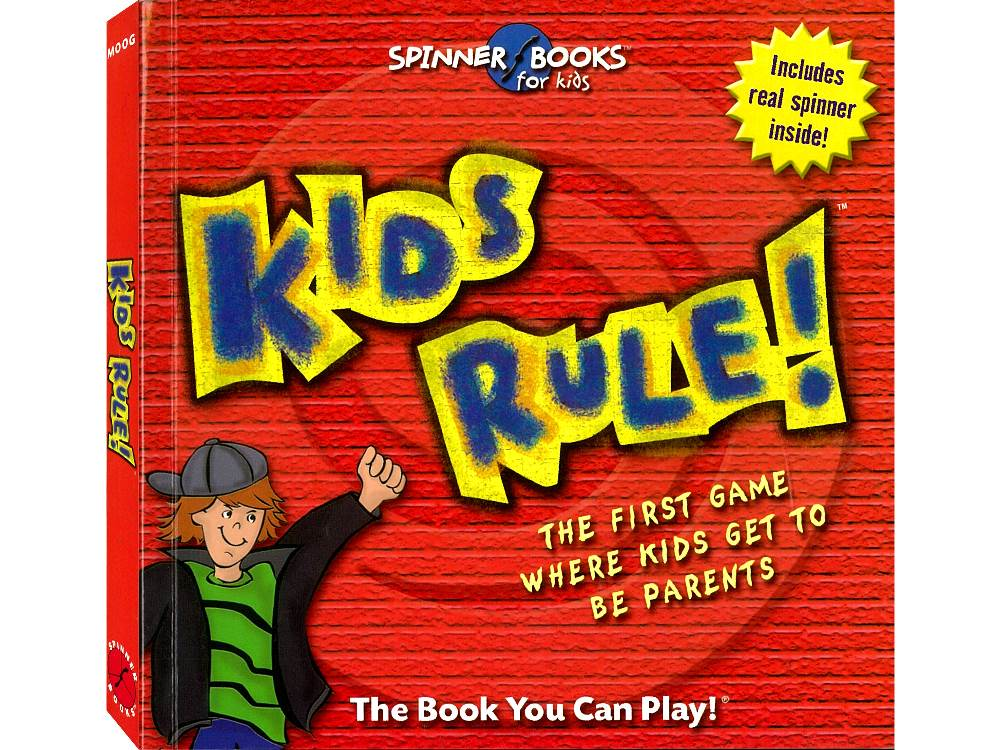 KIDS RULE SPINNER BOOKS