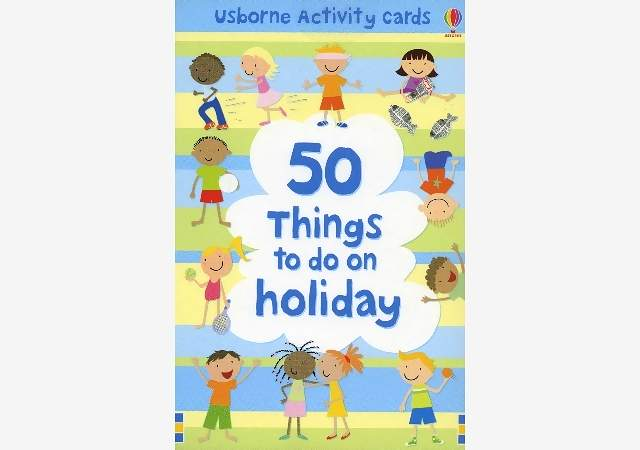 50 THINGS TO DO ON A HOLIDAY