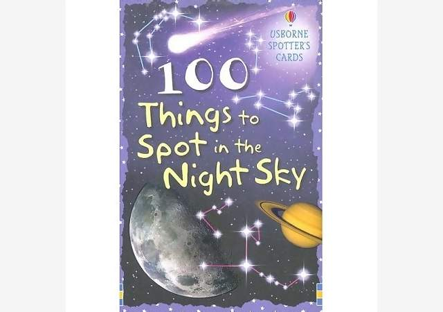 100 THINGS TO SPOT, NIGHT SKY