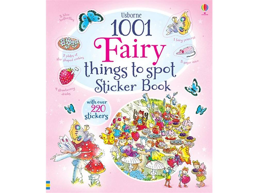 1001 FAIRY THINGS TO SPOT STKR