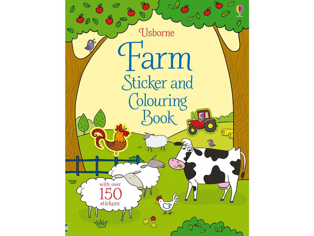 FARM STICKER & COLOURING BOOK