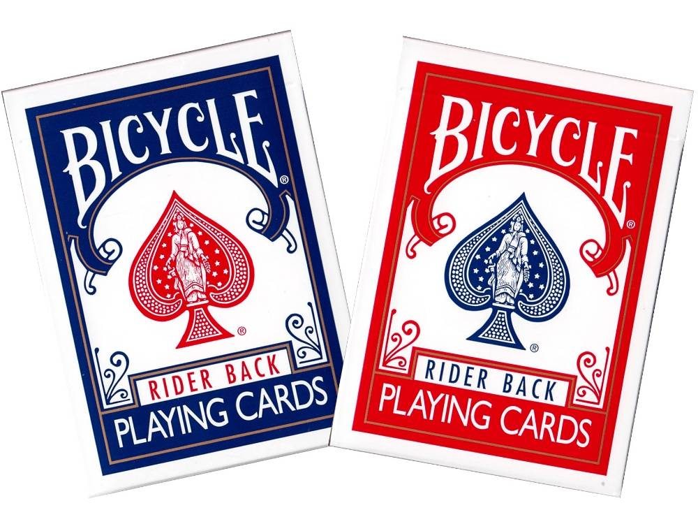 BICYCLE POKER RIDERBACK CLASSC