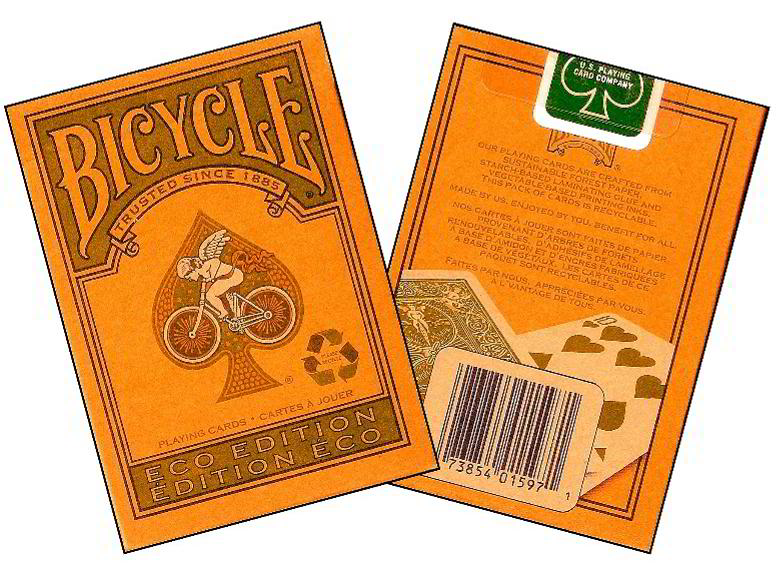 BICYCLE POKER ECO EDITION
