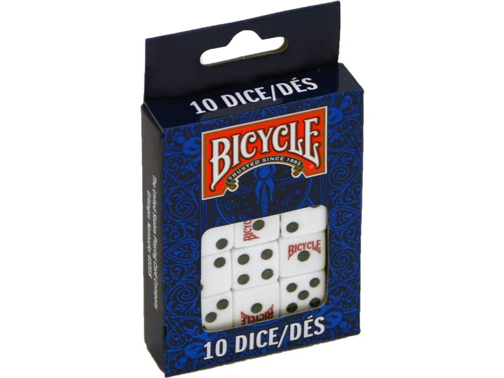 BICYCLE PACK OF 10 DICE