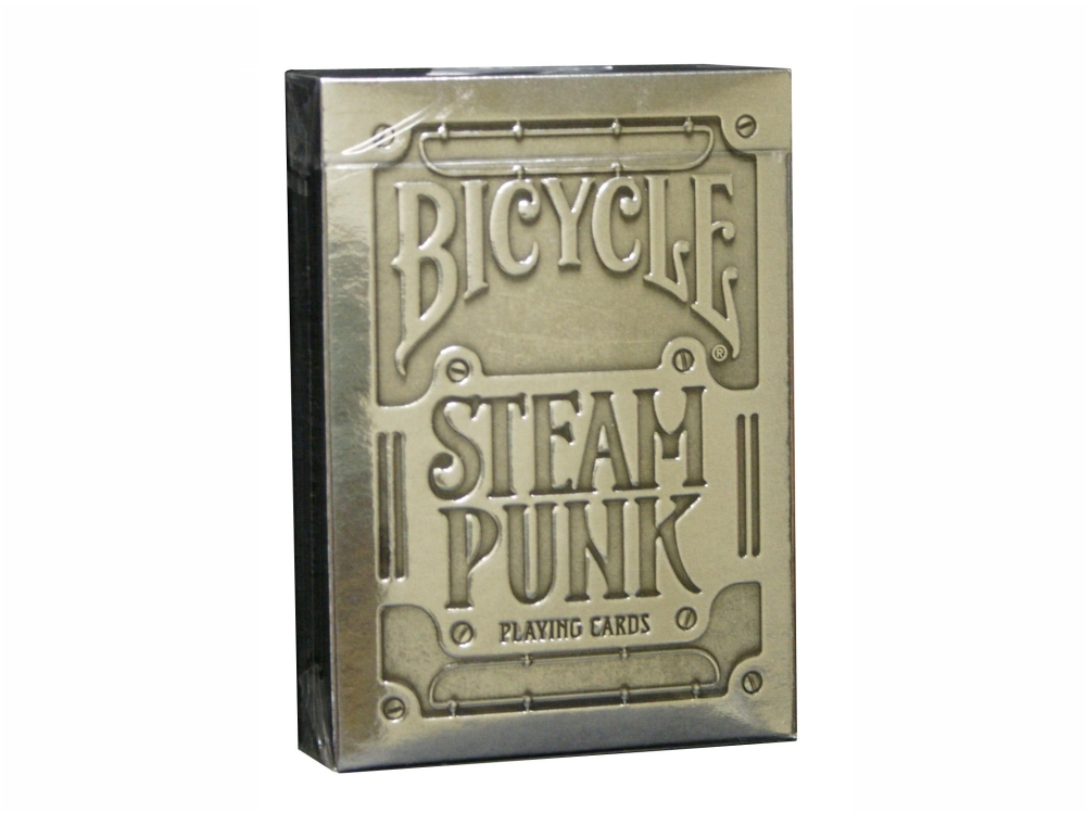 BICYCLE POKER STEAM PUNK FOIL